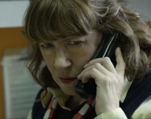 Fast-food restaurant manager Sandra (Ann Dowd) makes a very bad decision in Compliance