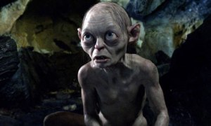 Gollum (Andy Serkis) is the star of the show in The Hobbit: An Unexpected Journey