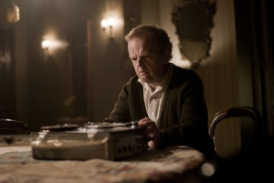 Toby Jones as Gilderoy in Berberian Sound Studio