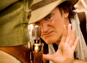 Quentin Tarantino directs and unfortunately stars in Django Unchained