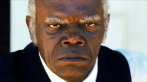 The deplorable house slave Stephen (Samuel L Jackson) in Django Unchained