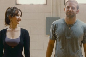 Tiffany (Jennifer Lawrence) and Pat (Bradley Cooper) audition for Strictly Come Dancing in Silver Linings Playbook