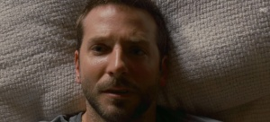 Pat Jnr (Bradley Cooper) tries to stay on top of his bipolar disorder in Silver Linings Playbook