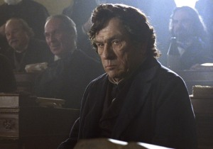Tommy Lee Jones as fiery Republican Congessional leader Thaddeus Stevens in Lincoln