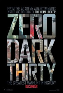 Kathyryn Bigelow's Zero Dark Thirty