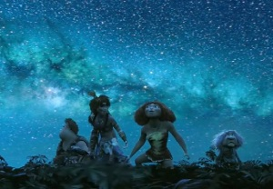 The wonderful visuals are The Croods' trump card
