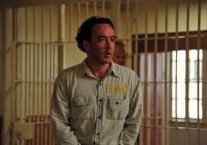 Redneck death row inmate Hillary Van Wetter (John Cusack) in The Paperboy
