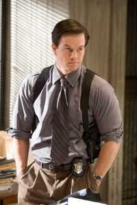 Foul-mouthed cop Dignam (Mark Wahlberg) in The Departed