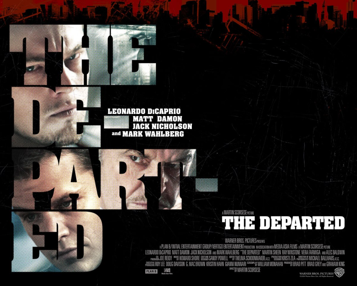 The Departed Poster | three rows back