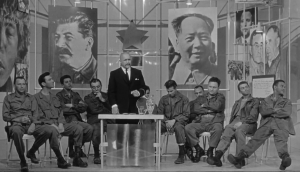 The unfortunate platoon, unwitting pawns in a much larger game, in The Manchurian Candidate