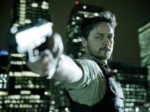 Obsessive cop Max Lewinsky (James McAvoy) in Welcome to the Punch