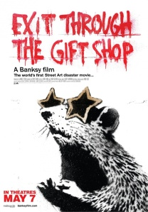 In Exit Through The Gift Shop, Banksy has conjured up a playfully provocative work of art in and of itself