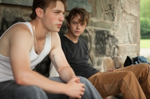 AJ (Emory Cohen) and Jason (Dane DeHaan) in The Place Beyond The Pines