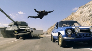 Another believable action set piece in Fast and Furious 6