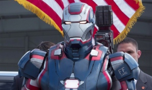 War Machine, make that Iron Patriot, in Iron Man 3