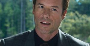 Tony Stark's former number one fan Aldrich Killian (Guy Pearce) in Iron Man 3