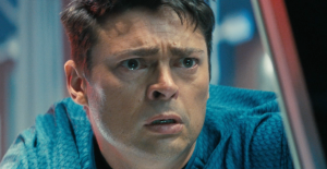 """Damn it Jim!"" Bones (Karl Urban) Star Trek Into Darkness"