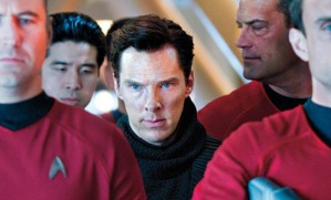 Deadly terrorist John Harrison (Benedict Cumberbatch) in Star Trek Into Darkness