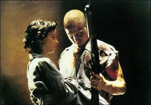 "Mickey and Mallory Knox (Woodly Harrelson and Juliette Lewis), ""the best thing to happen to mass murder since Manson"", in Natural Born Killers"