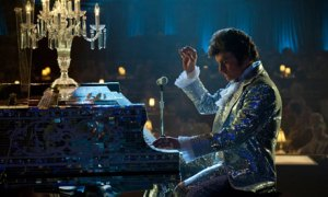 'Mr Showmanship' Liberace (Michael Douglas) in action in Behind the Candelabra