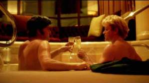 A scene that's probably 'too gay' for the studios in Behind the Candelabra
