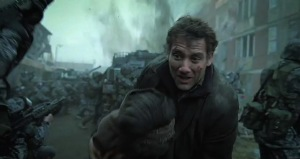 Theo (Clive Owen) fights for survival in Children Of Men