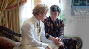 Liberace (Michael Douglas) tells Scott (Matt Damon) how he feels in Behind the Candelabra