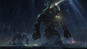 The Jaeger's go to war in Pacific Rim