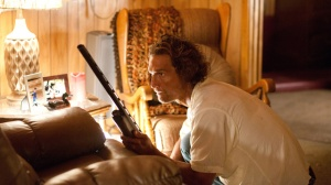 Mud (Matthew McConaughey) tries to save his skin in Mud