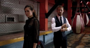 Mai (Rhatha Phongam) and Julian (Ryan Gosling) in Only God Forgives