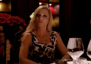 Crystal (Kristin Scott Thomas), a modern-day Lady Macbeth in Only God Forgives