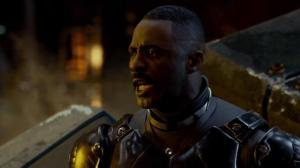 """Today, we are cancelling the apocalypse!"" - tough, but fair Jaeger force commander Stacker Pentecost (Idris Elba) in Pacific Rim"