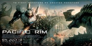 Leave your cynicism at the door and Guillermo del Toro's Pacific Rim will reward you two hours of monster mayhem that'll overload your senses
