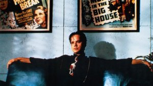 The sleek, shark-like studio executive Griffin Mill (Tim Robbins) in The Player