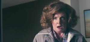 Alan's long-suffering assistant Lynn (Felicity Montagu) in Alan Partridge: Alpha Papa
