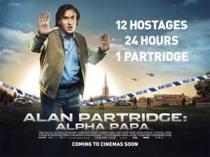 Alan Partridge Alpha Papa Poster