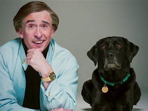 Alan (Steve Coogan) and best friend in Alan Partridge: Alpha Papa