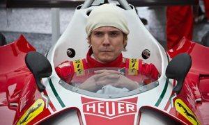 Daniel Brühl as Niki Lauda in Rush