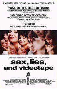Sex, Lies and Videotape Poster