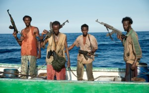 The pirates in search of loot in Captain Phillips