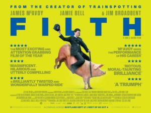 Filth may live up (and down) to its title, but from the gutter comes a darkly funny, uncompromising and uniquely British moviegoing experience that has at its core one of the year's very best performances
