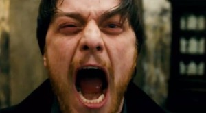 Things ain't looking great for Detective Bruce Robertson (James McAvoy) in Filth