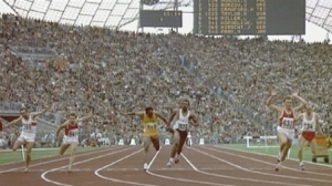 The 1972 Munich Olympics went on in spite of the tragedy unfolding in its back yard