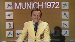 ABC anchor Jim McKay, whose rolling news provides the commentary for One Day In September
