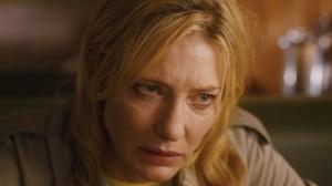 The self-destructive Jasmine (Cate Blanchett) in Blue Jasmine