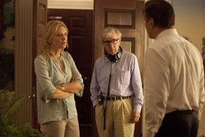 Woody Allen directs Cate Blanchett and Alec Baldwin in Blue Jasmine