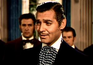Man about town Rhett Butler (Clark Gable) in Gone With The Wind
