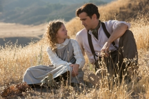 Mrs Travers remembers her youth with her father (played by Colin Farrell) in Saving Mr Banks