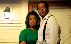 Cecil Gaines (Forest Whitaker) and his wife Gloria (Oprah Winfrey) in The Butler