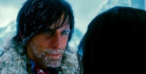 One of Walter's (Ben Stiller) numerous fantasies in The Secret Life of Walter Mitty